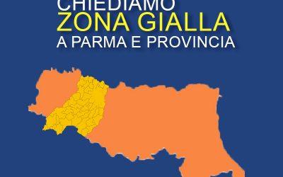 Le Associazioni di categoria chiedono la zona gialla per Parma e provincia