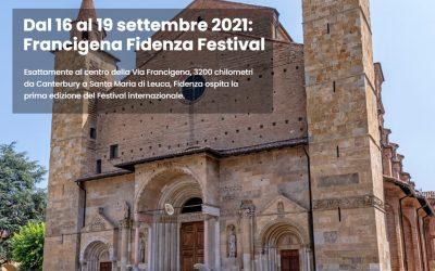 Dal 16 al 19 settembre la prima edizione del Francigena Fidenza Festival