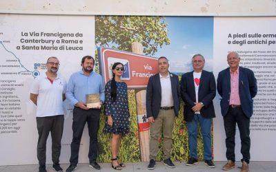 """""""La Francigena. Commercio, Ospitalità e Alimentazione"""" in vendita nelle principali edicole della provincia"""