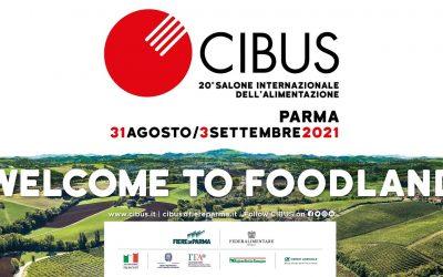 Cibus 2021, fino al 3 settembre alle Fiere di Parma il salone internazionale dell'Alimentazione